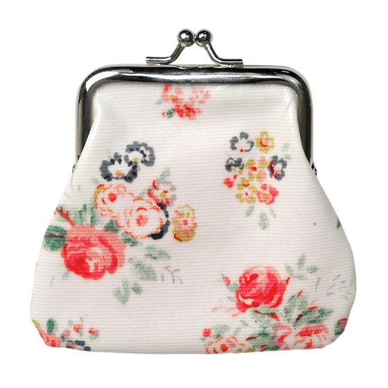 CHINTZ OILCLOTH COIN PURSE