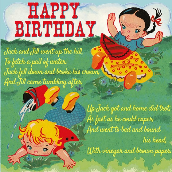 jack and jill birthday card
