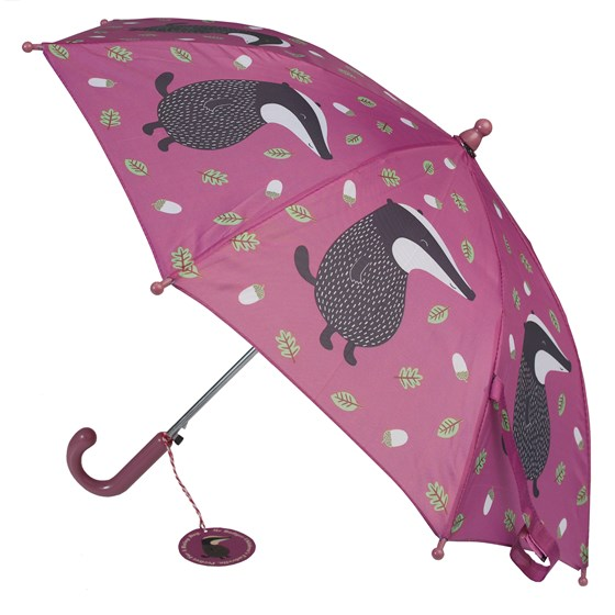 mr badger children's umbrella
