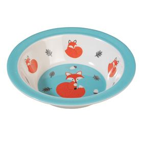 melamine bowl rusty the fox
