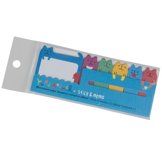 cool cats mini memo pads