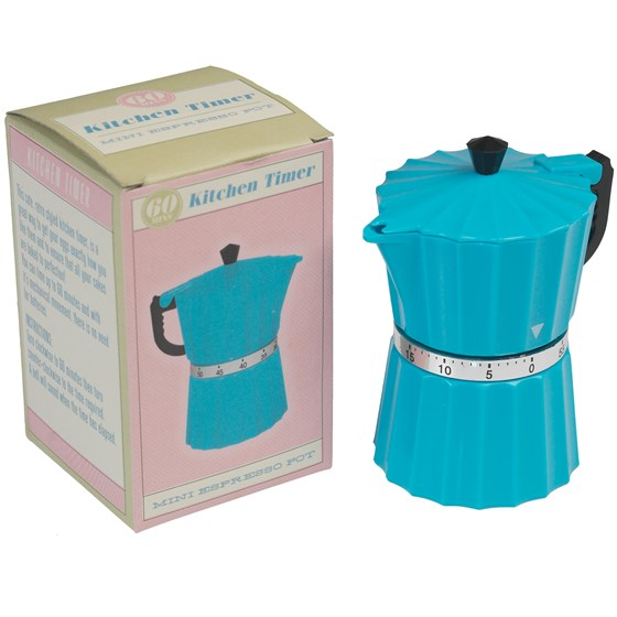 COFFEE POT KITCHEN TIMER