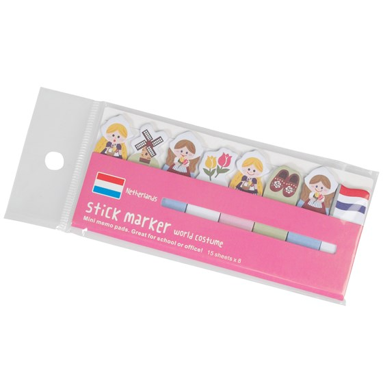 dutch girls mini memo pads