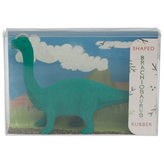 dinosaur pencil rubber