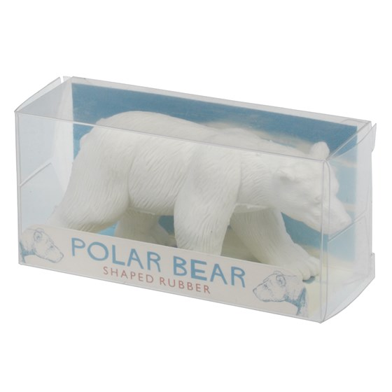 polar bear pencil rubber