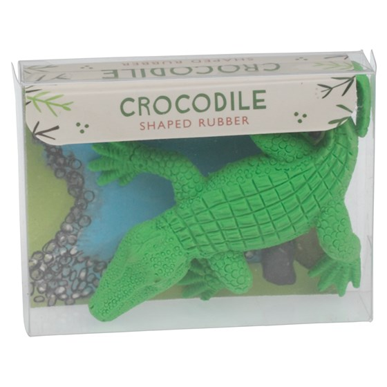 crocodile pencil rubber