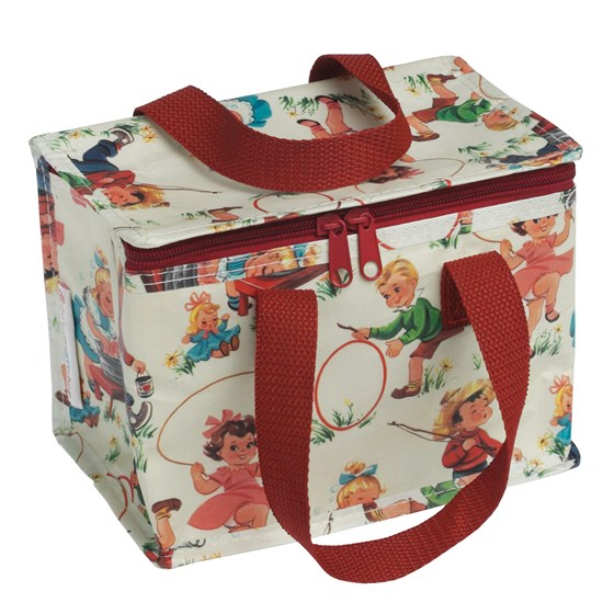 vintage kids design lunch bag