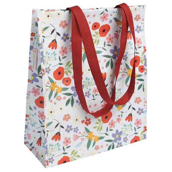 SUMMER MEADOW DESIGN SHOPPING BAG