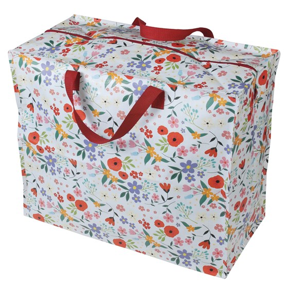 SUMMER MEADOW DESIGN JUMBO STORAGE BAG