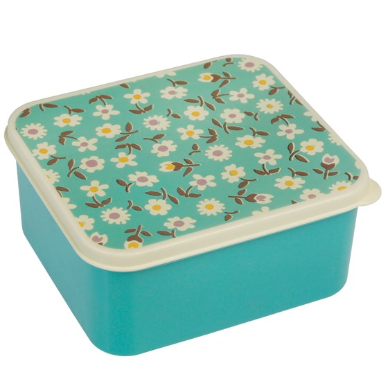 LUNCH BOX VINTAGE DAISY