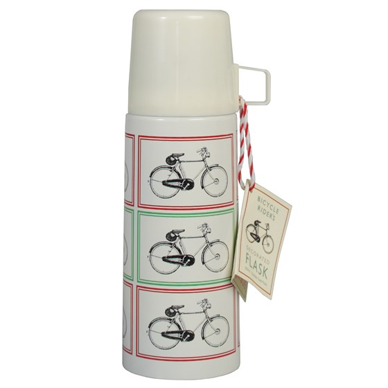 BICYCLE DESIGN FLASK AND CUP