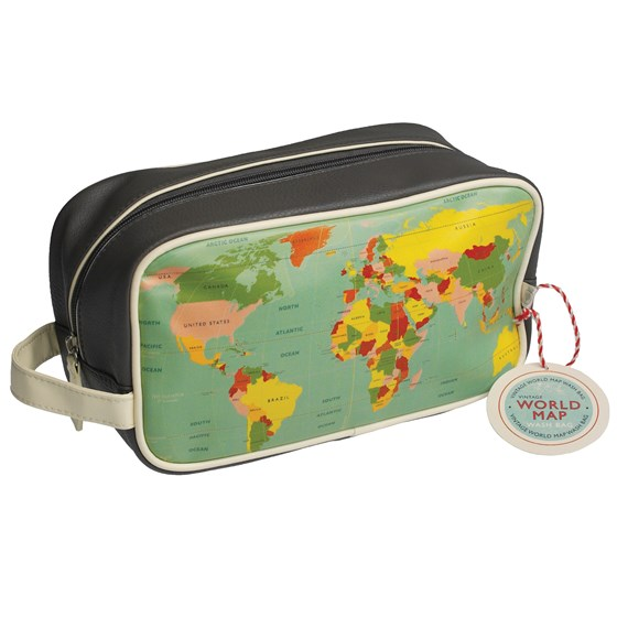 "trousse de toilette ""world map"""