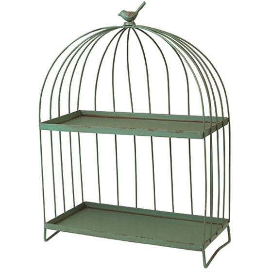 birdcage gazebo shelf
