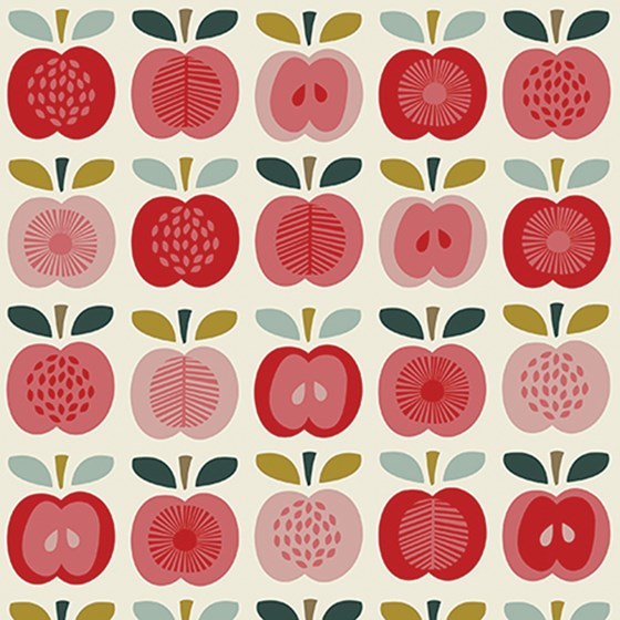 VINTAGE APPLE WRAPPING PAPER
