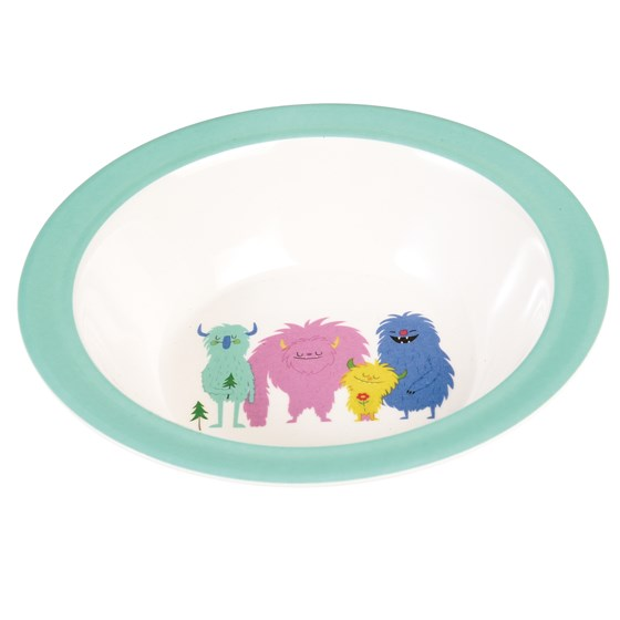 MONSTERS OF THE WORLD MELAMINE BOWL