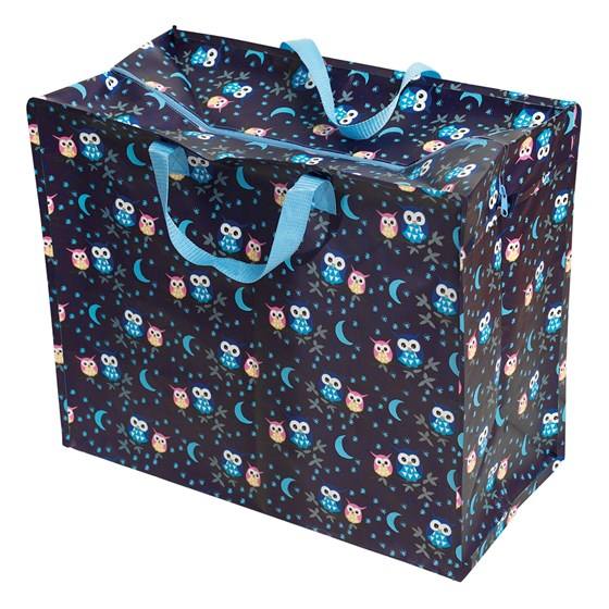 night owls design jumbo storage bag