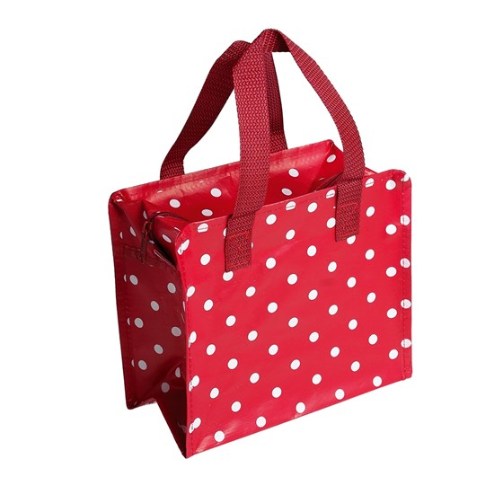 red retrospot design charlotte bag