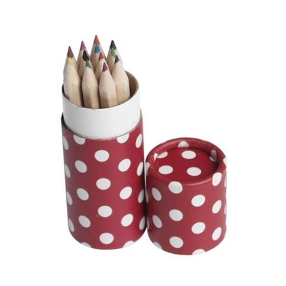 12 pencils small tube red retrospot