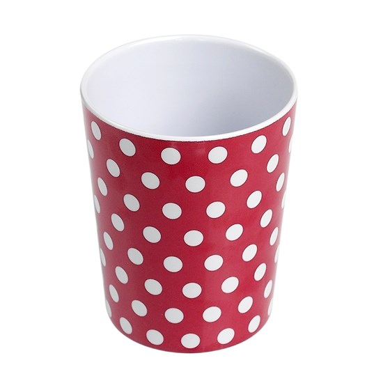 red retrospot cup