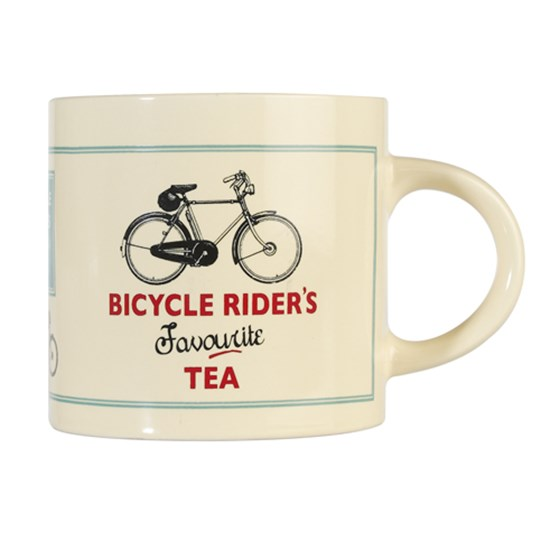 bicycle rider's favourite tea mug