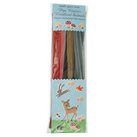 woodland animals pipe cleaner set