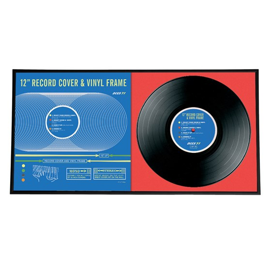 double album record frame