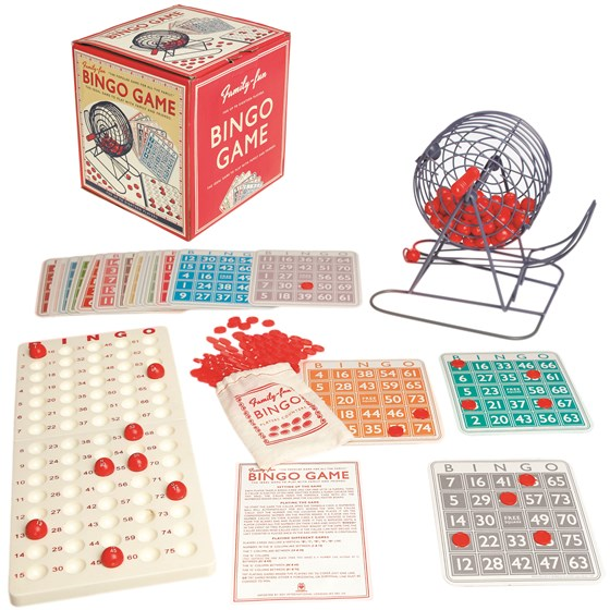family bingo game