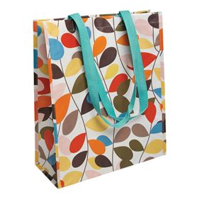 vintage ivy design shopping bag