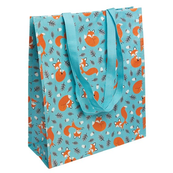 rusty the fox design shopping bag