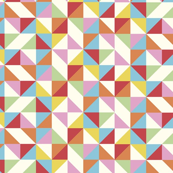 multicolour geometric wrapping paper