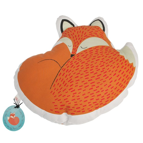 "coussin ""rusty the fox"""