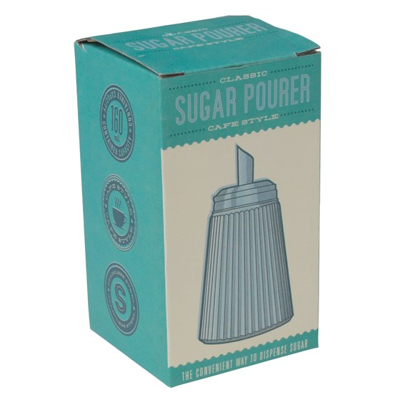 retro cafe sugar pourer