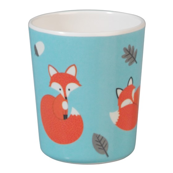 "becher aus melamin ""rusty the fox"""