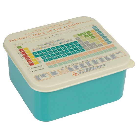 LUNCH BOX PERIODIC TABLE
