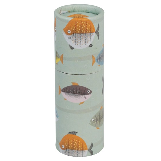 set of 12 colouring pencils let's go fishing design