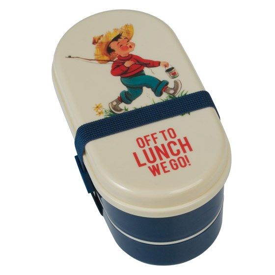 children's bento box vintage boy