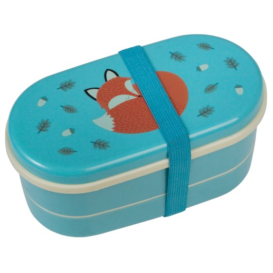 children's bento box rusty the fox