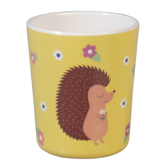 "becher aus melamin ""honey the hedegehog"""