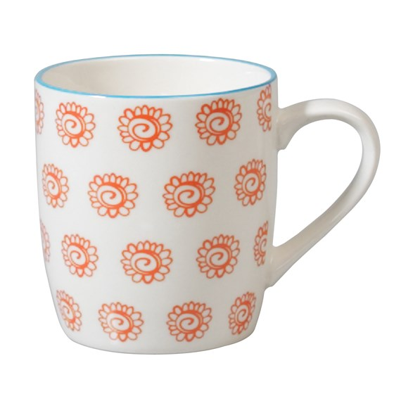 japanese mug sunflowers
