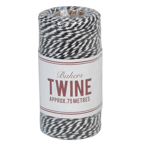 bakers twine black and white