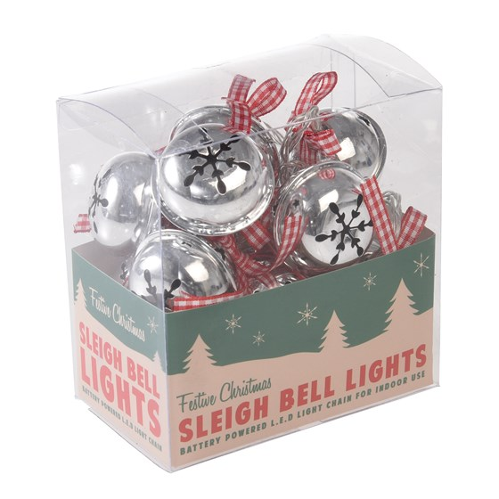 ten sleighbells christmas lights