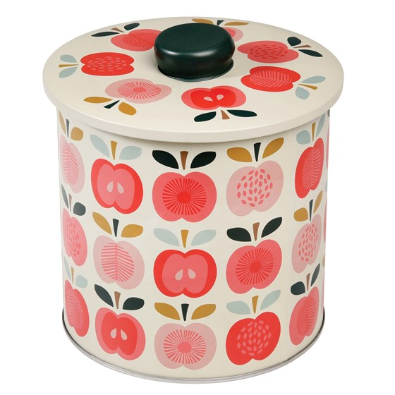 vintage apple biscuit barrel