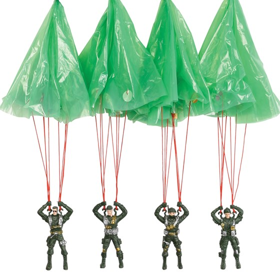paratrooper parachute toy assorted