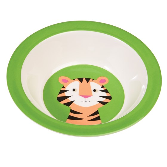 TIGER MELAMINE BOWL