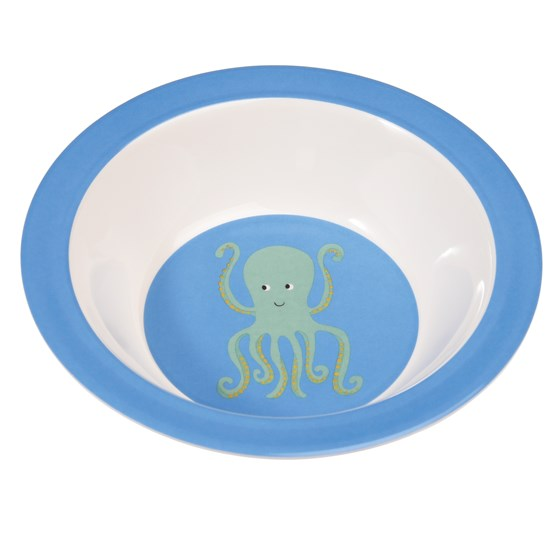 OCTOPUS MELAMINE BOWL