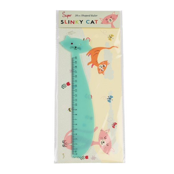 CATS LIFE PLASTIC RULER