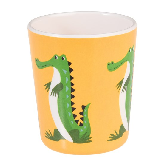 HARRY THE CROCODILE MELAMINE BEAKER