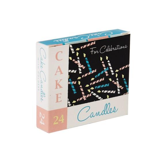 Set 24 Cake Candles