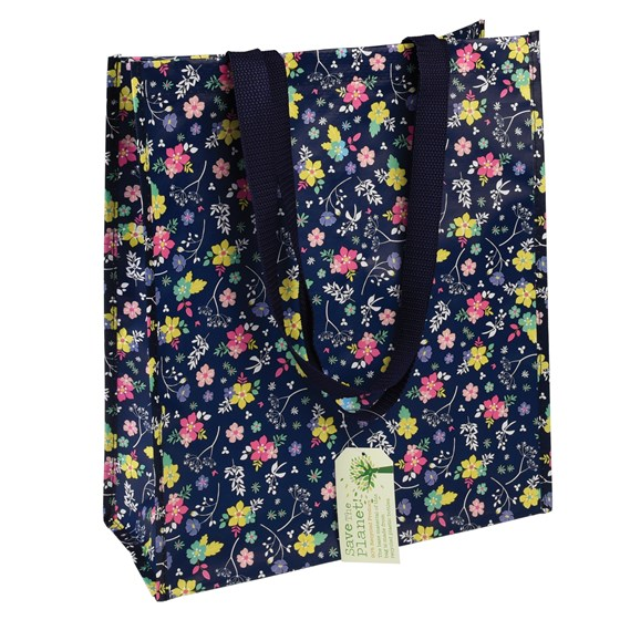 ditsy garden shopping bag