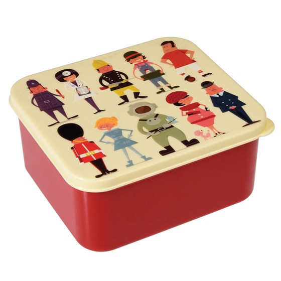 world of work lunch box